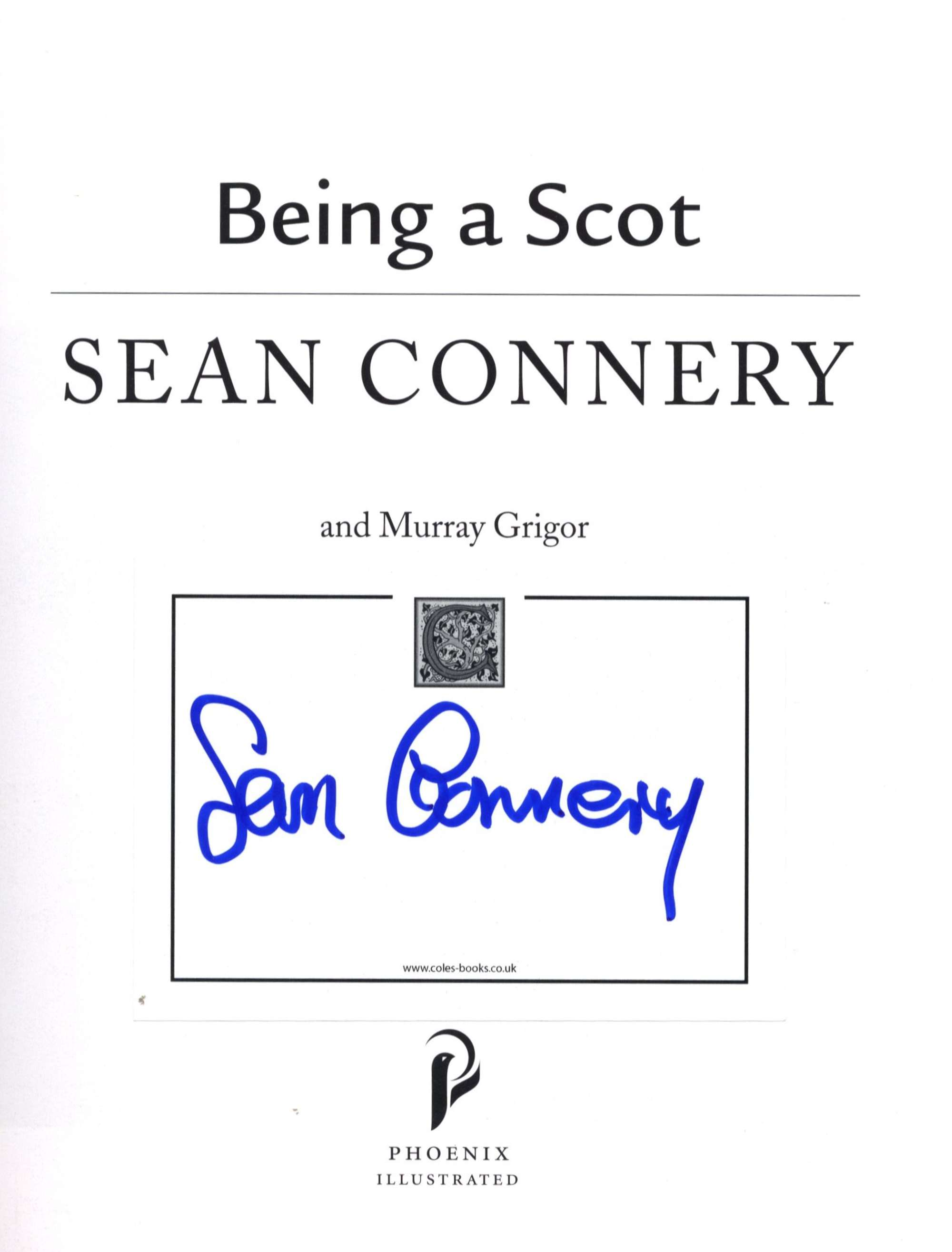 146 | JAMES BOND: Sean Connery signed paperback edition of B